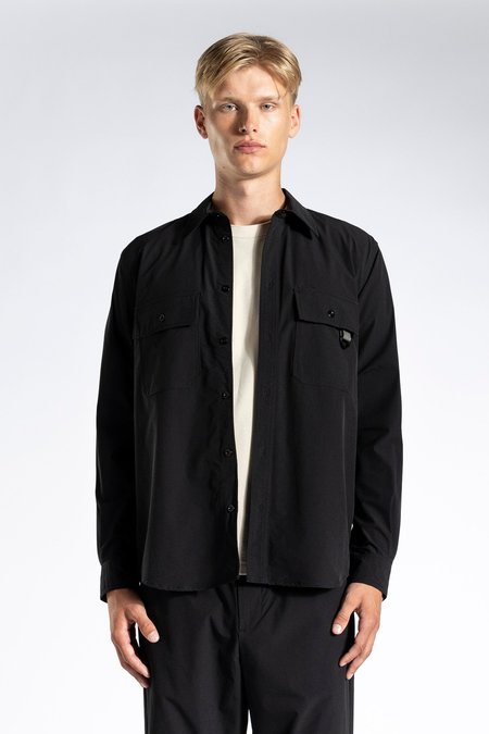 Norse Projects Villads Travel Solotex Overshirt - Black