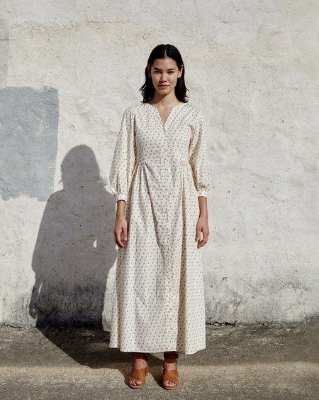 Esby WYLIE DRESS - CREAM FLORAL