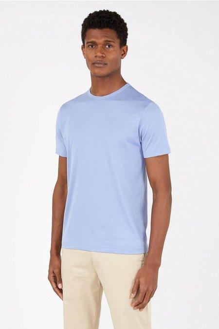 Sunspel Classic cotton t-shirt - polar blue