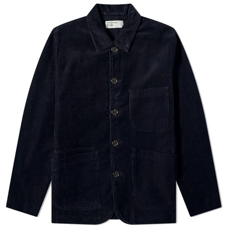 Universal Works Bakers Jacket - Midnight Cord