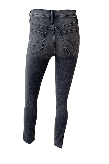 Mother Denim Stunner Ankle Fray Jean - Friday the 13th
