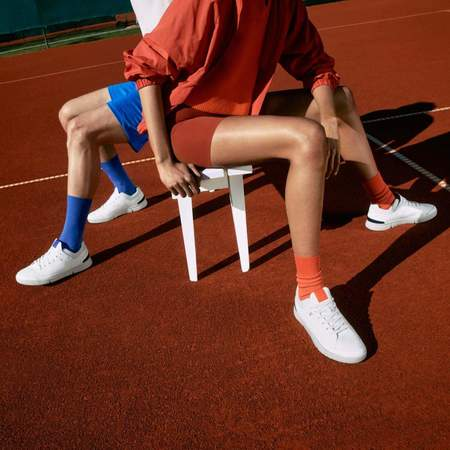 On Shoes The Roger Centre Court White/Flame Women 48.99154