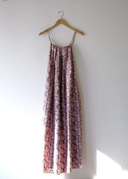 Christine Alcalay Jamie Dress - Silk Peonies