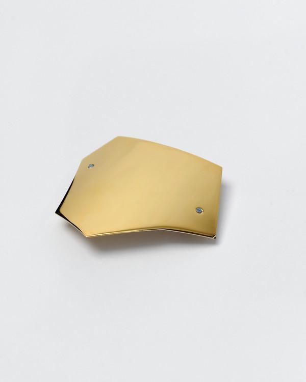 Sylvain le Hen Barrette 089 in Gold