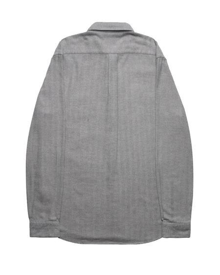 Portuguese Flannel ESPIGA top - grey