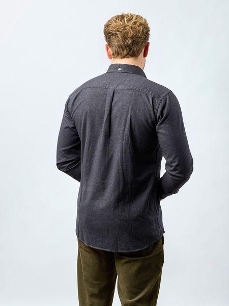 Carpasus populus flannel shirt - grey