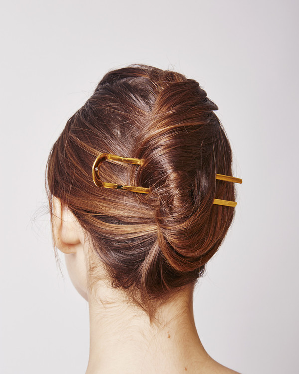 Sylvain le Hen Hairpin 014 in gold
