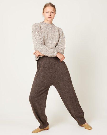 Lauren Manoogian Fine Arch Pants - Blackened