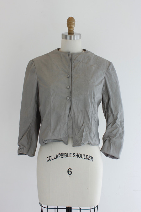 Hazel Brown Pixie leather jacket