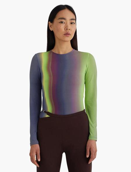 Paloma Wool Iceland Long Sleeve T-Shirt - Medium Blue
