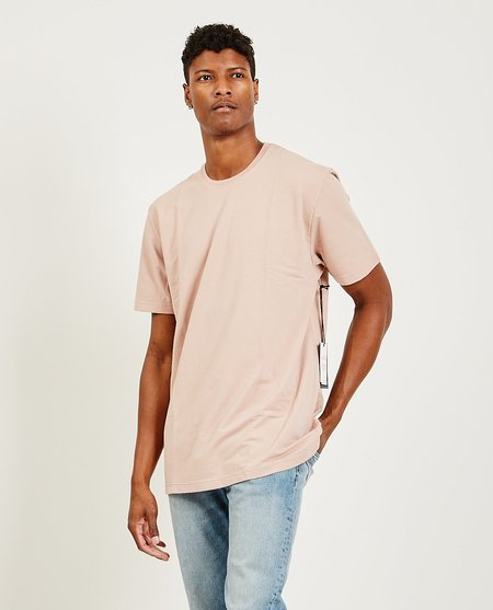 TOMORROW'S LAUNDRY Classic Essential French Terry Tee - Muted Clay