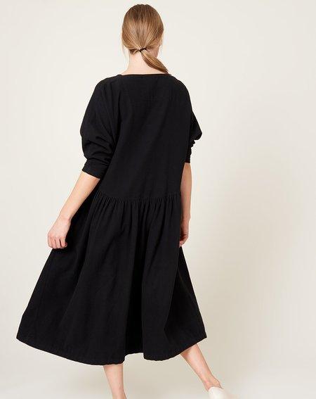 Black Crane Tradi Dress - Black
