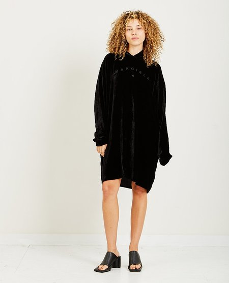Maison Margiela Velvet Dress - Black