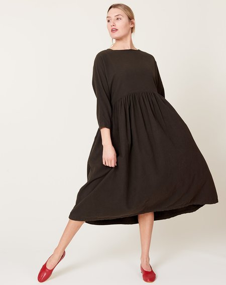 Black Crane Tradi Dress - Dark Grey