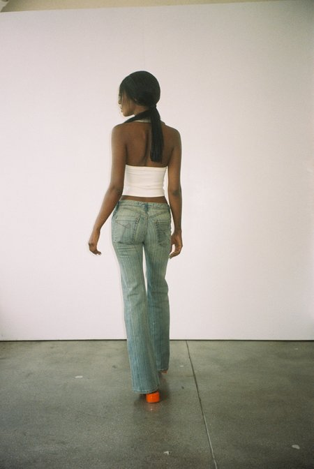 Vintage Oligo Tissew Low-rise Jeans