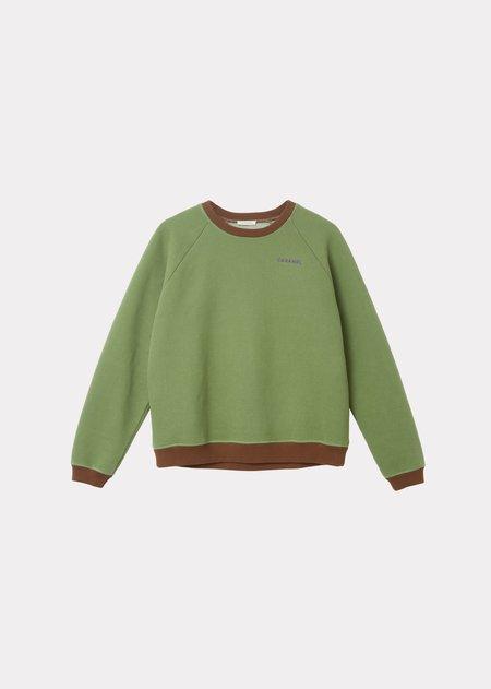 Caramel Sweatshirt - Sage
