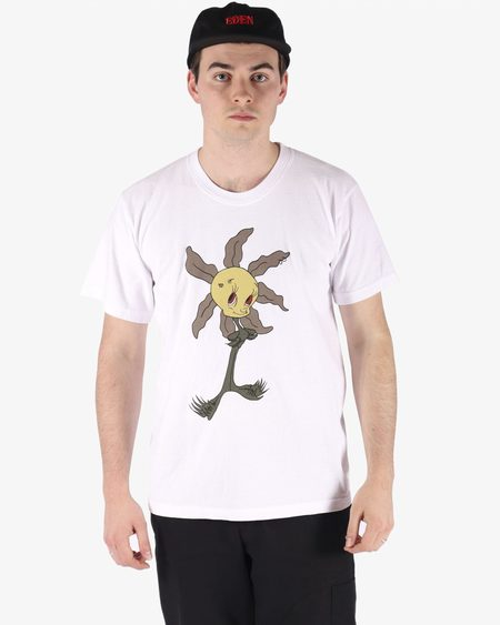 EDEN Lil Wretched Flowers Tee - White