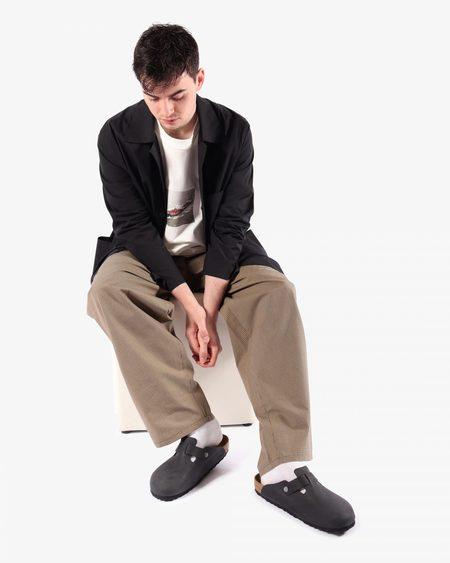 Camiel Fortgens 11.05.03 Pleated Suit Cotton Pants - BROWN