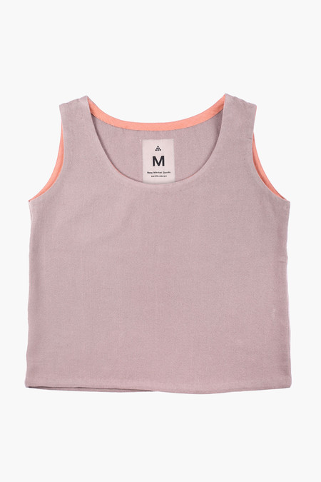 New Market Goods Gray Canvas Tank