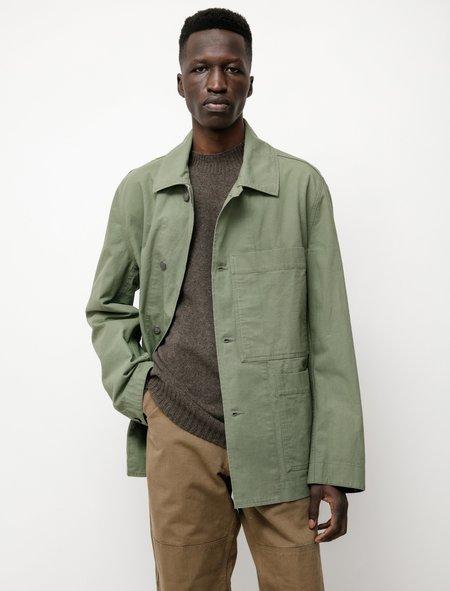 Margaret Howell MHL Big Pocket Jacket - Khaki Green
