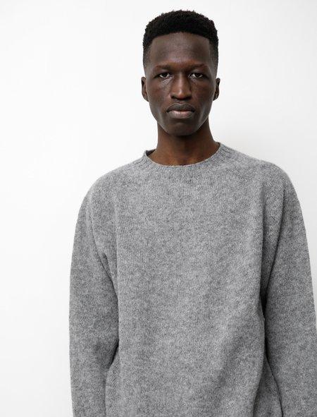 Neighbour Shetland Sweater - Grey