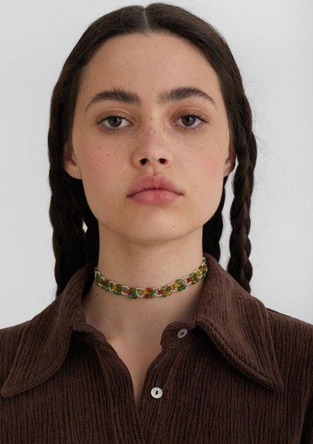 Paloma Wool PRIMAVERA Choker - Green