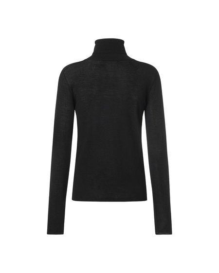 Samsøe & Samsøe Jersey Jennifer Turtleneck sweater - Black