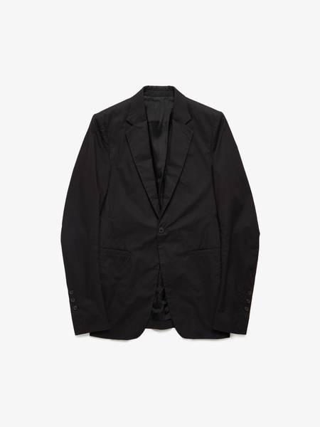 Rick Owens M SS17 Cotton Long Blazer