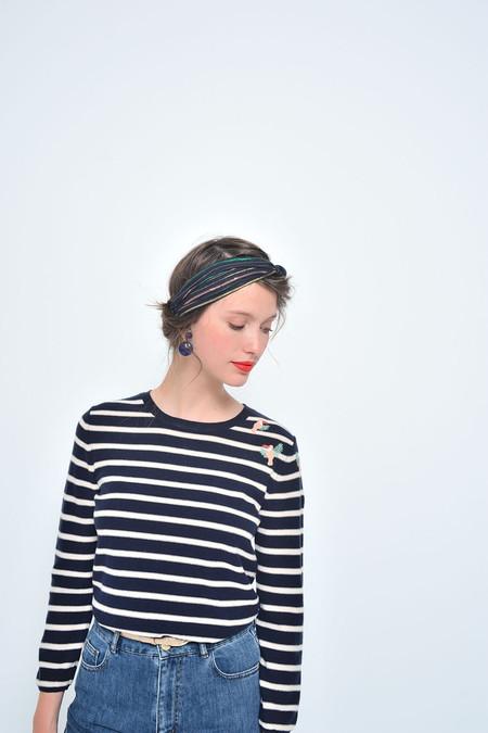 Des Petits Hauts   Blondie Striped Pullover