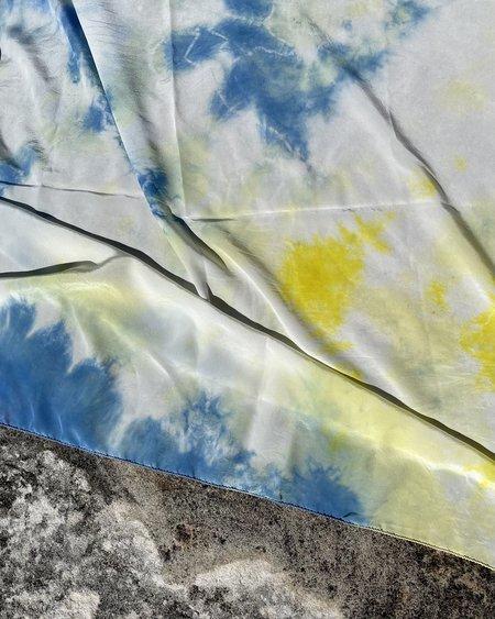 FIELD TIE DYE scarf - cosmic