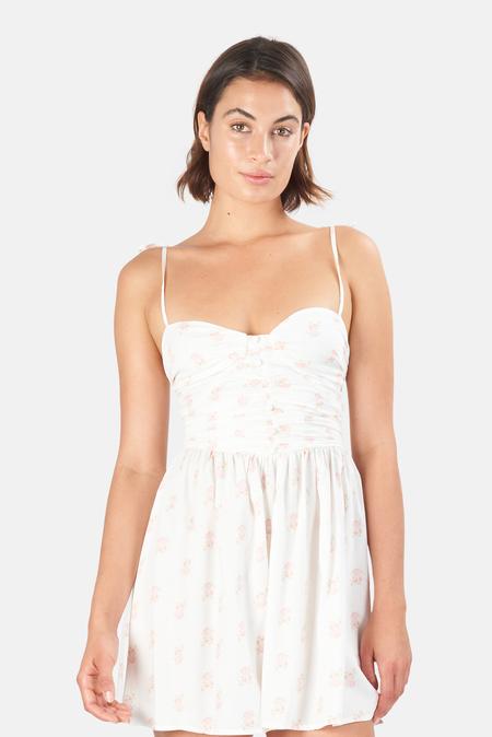 Women's For Love & Lemons Lynne Minidress - White