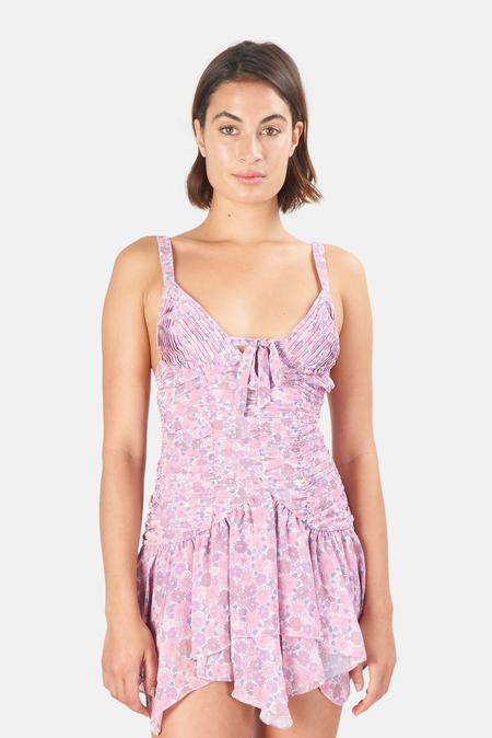Women's For Love & Lemons Kacey Minidress - light Pink