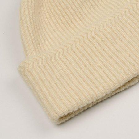 cableami  Baby Alpaca Beanie - Ivory