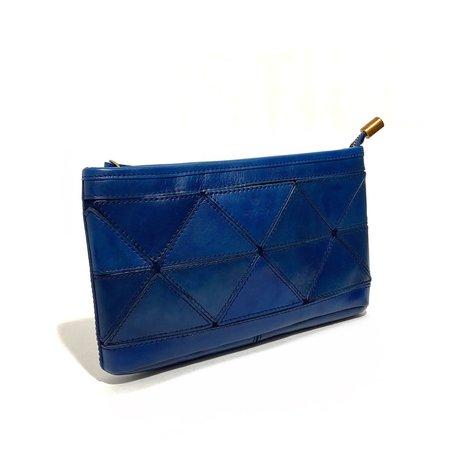 Uppdoo Origami Cross-body/Clutch - Blue