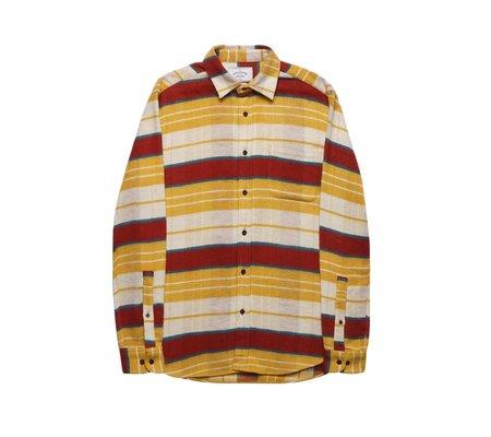Portuguese Flannel Happy Stripe Flannel Shirt