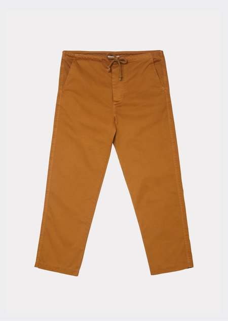 Caramel Judo Trousers - Mustard Twill