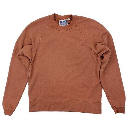 Unisex Jungmaven Sierra Raglan Sweatshirt - Terracotta