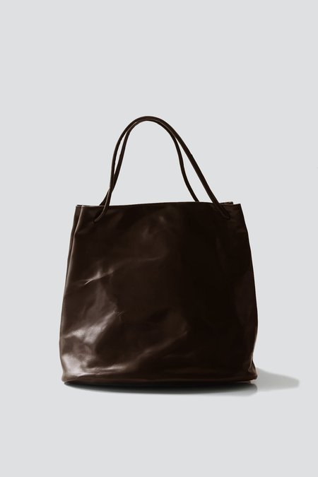 Gabriela Coll Garments Leather No.17 Hoof Bag - Brown