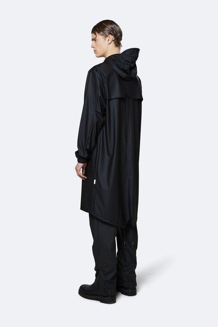 Rains Fishtail Parka Jacket - Black