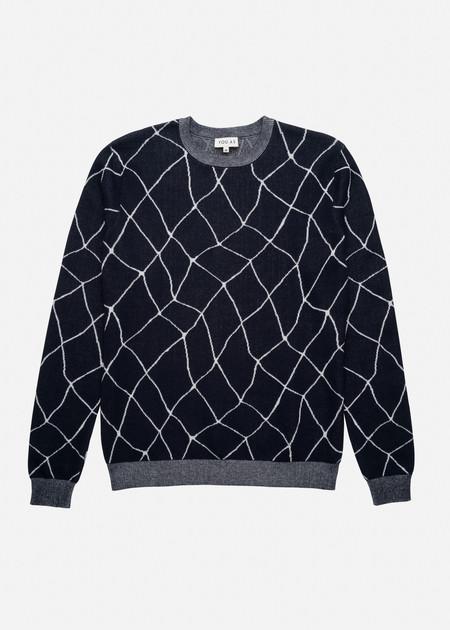 YOU AS Otis Sweater in Navy