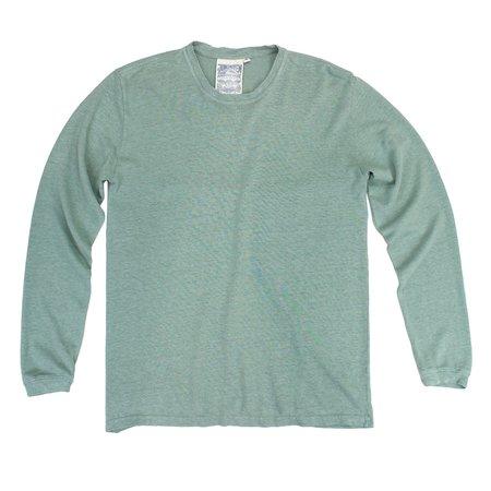 UNISEX Jungmaven Baja Long Sleeve Tee - Clay Green