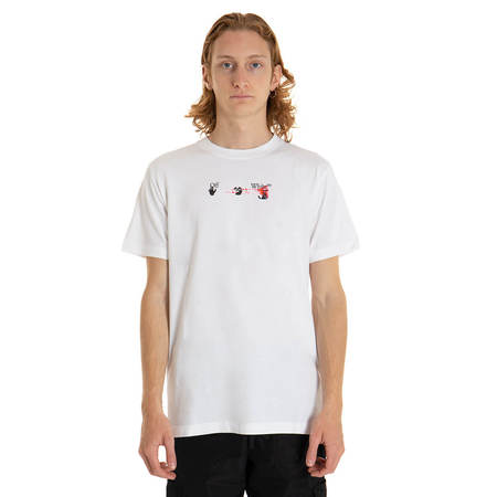 OFF-WHITE Acrylic Arrow t-shirt - white