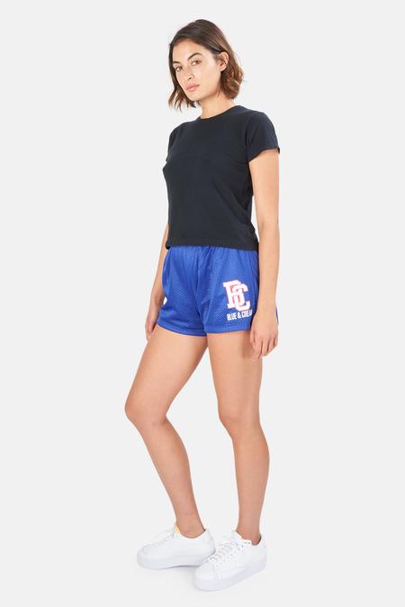 Blue&Cream Crew T-Shirt - Faded Black