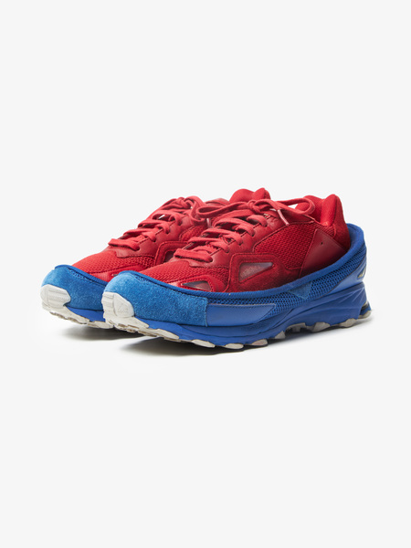 pre-loved Raf Simons X Adidas Male Response Trail 2 sneakers - red/blue
