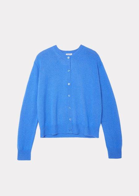 Caramel Cardigan - Azure Blue