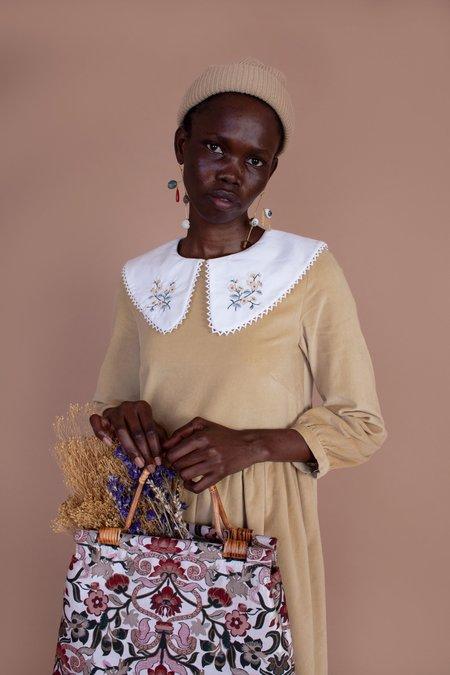 Meadows Pasque Dress - Velvet Cream