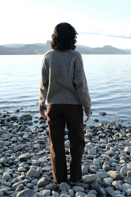 Mónica Cordera Soft Wool Sweater - Grey