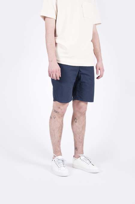 Norse Projects Aros Light Twill Shorts Navy