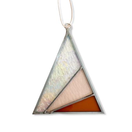 Rays Triangle Suncatcher - Iridescent