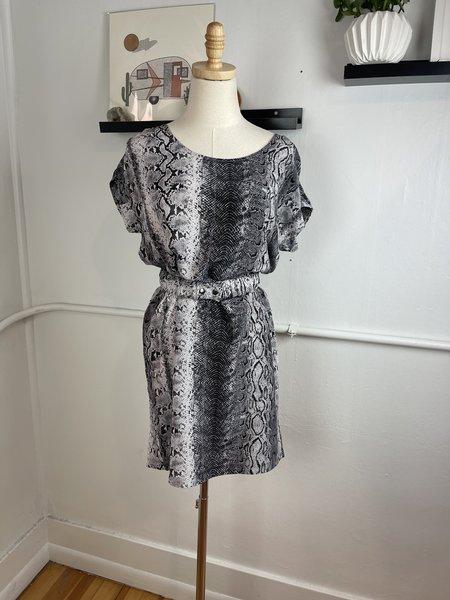 [Pre - Loved] Revival Joie. Silk  Dress - Snake Print